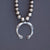 Navajo Guild Silver Naja Necklace