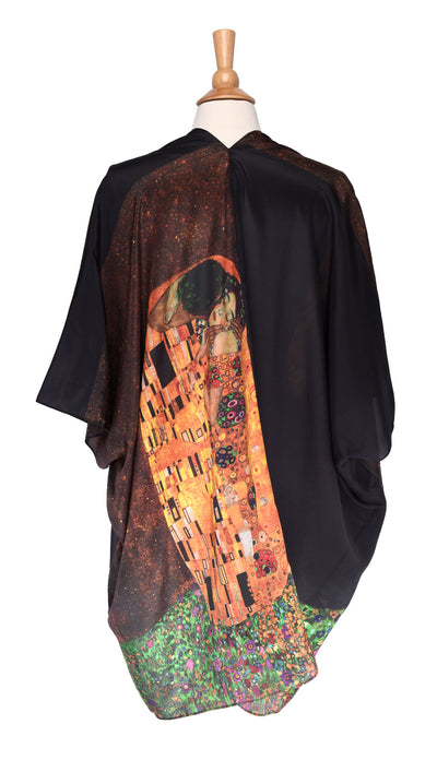 """The Kiss"" Silk Kimono Jacket"