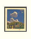 Baumann - Summer Clouds Matted Card