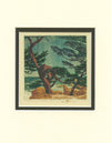 Baumann - Pacific Shoreline Matted Card