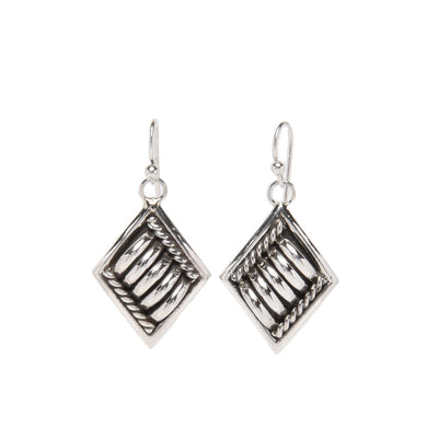 Thomas Charley Dangle Sterling Silver Earrings