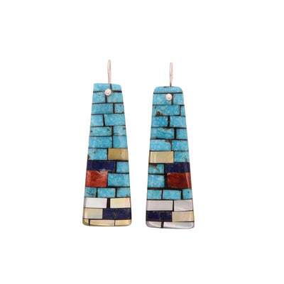 Charlene Reano Mosaic Earrings
