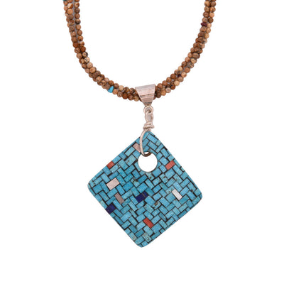 Charlene Reano Reversible Pendant Necklace