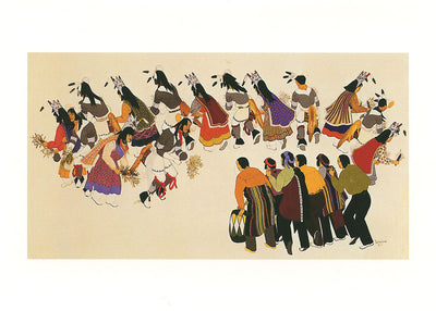 Native American Dance Card Set
