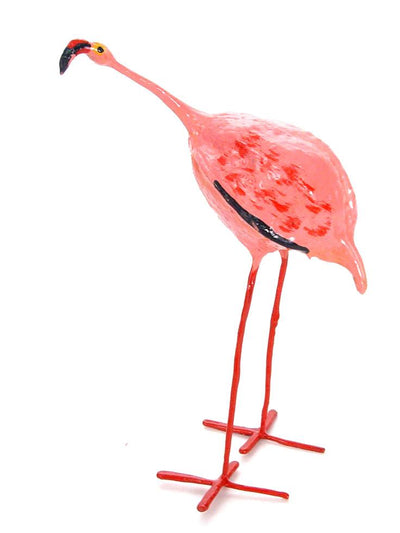 Flamingo Seedpod Bird