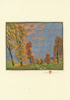 Gustave Baumann Trees Card Set