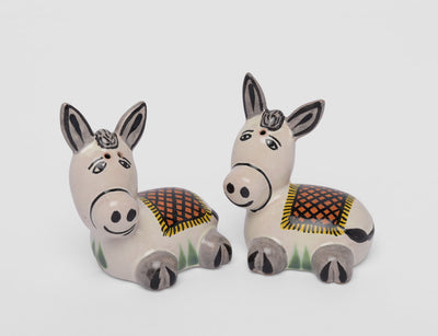 Burro Salt and Pepper Set by Gorky Gonzalez