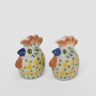 Rooster Salt and Pepper Set by Gorky Gonzalez