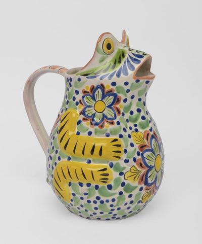 Large Frog Pitcher by Gorky Gonzalez