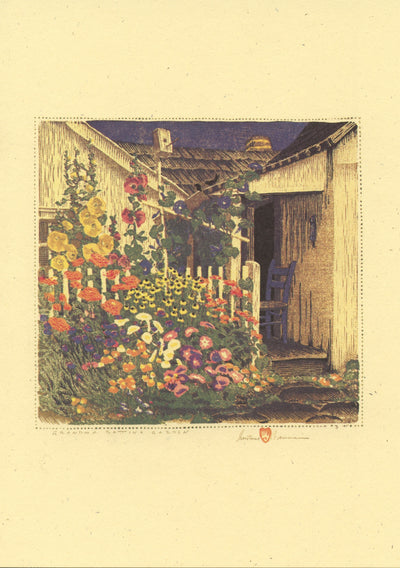 "Gustave Baumann ""Indiana"" Card Set"