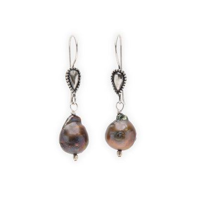 Jhane Myers Tahitian Pearl Earrings