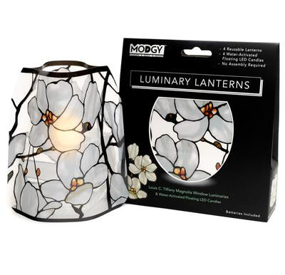 Louis C. Tiffany Magnolia Window Luminaries