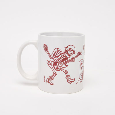 The Band Skeleton Day of the Dead Mug