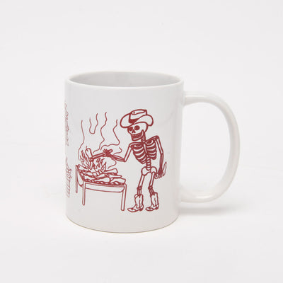 Chile Roaster Skeleton Day of the Dead Mug