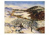 Randall Davey - Winter Landscape - New Mexico Holiday Cards