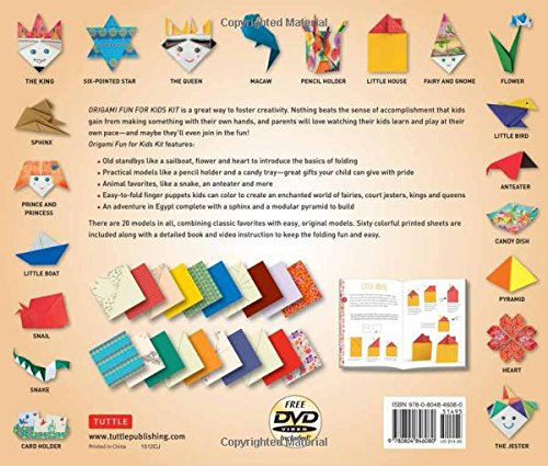 Origami Fun Kit for Beginners | Arts & Crafts | Do-It-Yourself ... | 425x500