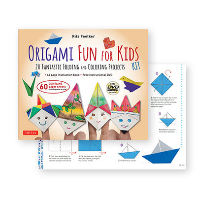 Origami Fun for Kids Kit