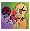 "Michelle Tsosie Sisneros ""Hummingbirds"" Note Card"
