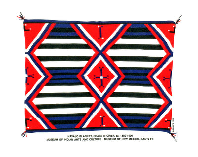 Navajo Chief's Blanket T-Shirt