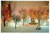 Santa Fe Plaza:  Winter - Holiday Boxed Card Set