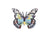 Angola White Lady Butterfly Pin