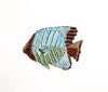 Hooded Butterfly Fish Pin