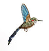 Tropical Hummingbird Pin