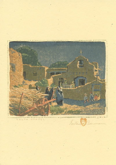 "Gustave Baumann ""New Mexico Religious"" Card Set"