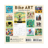 Bike Art 2021 Mini Wall Calendar