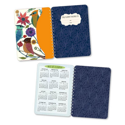 Geninne Zlatkis 2020 - 2021 Planner 17-Month Calendar With Pocket