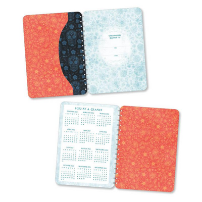 Sugar Skull 2020 - 2021 Planner 17-Month Calendar With Pocket