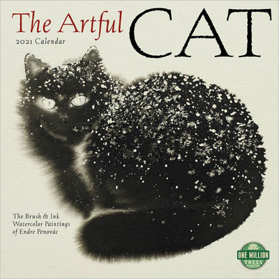 Artful Cat 2021 Wall Calendar