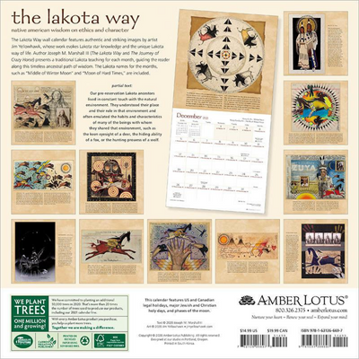 Lakota Way 2021 Wall Calendar