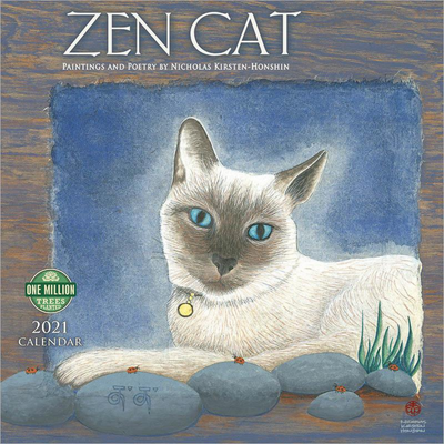 Zen Cat 2021 Wall Calendar