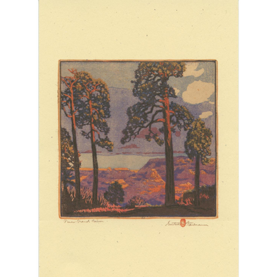 Our Gustave Baumann Card Collection