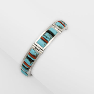 Veronica Benally Inlay Link Bracelet