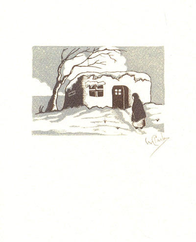 Willard Clark Images of Santa Fe Notecard Set