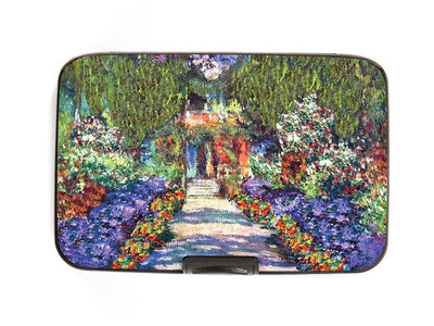 Monet Garden Armored Wallet