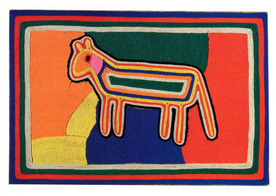 Huichol Yarn Painting Note Card Set