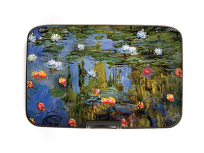 Water Lilies Armored Wallet