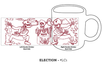 Election Day of the Dead Mug