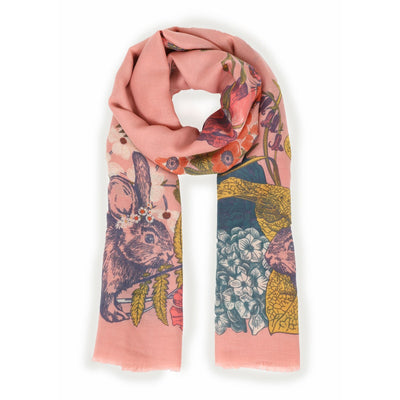 Countryside Animals Modal Scarf
