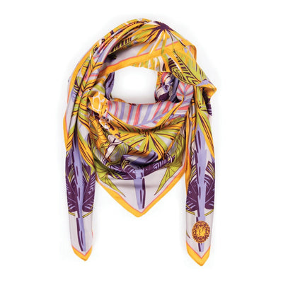 Elephant Parade Satin Square Scarf