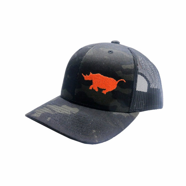 Limited Edition Multicam Black Running Rhino hat