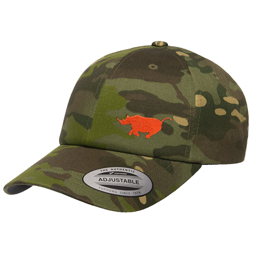 Limited Edition Multicam Tropic Running Rhino hat