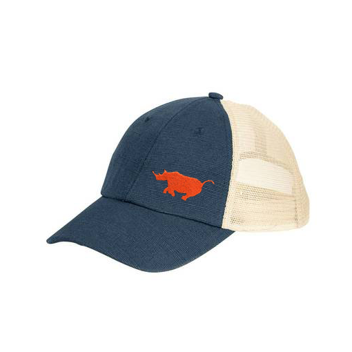 Running Rhino Blue/ White Hat