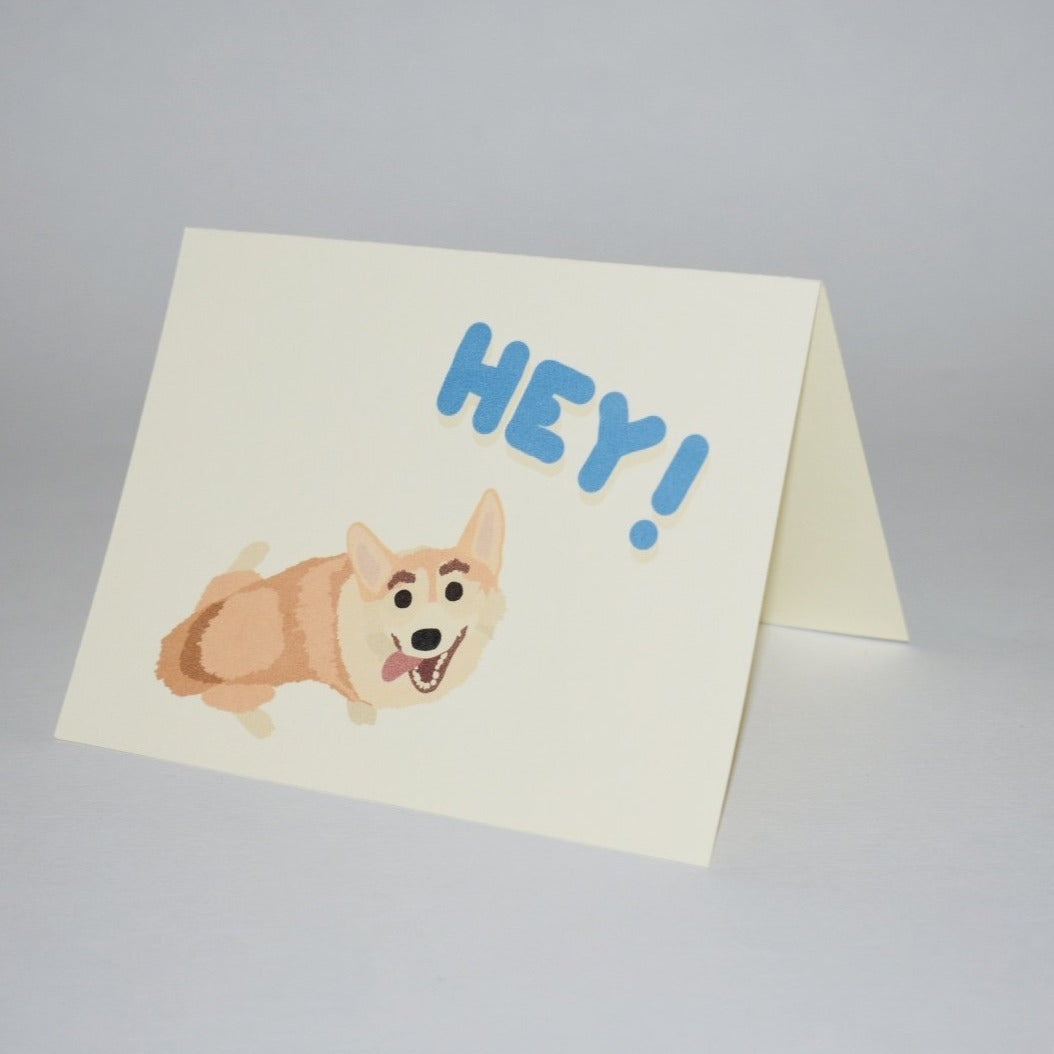 HEY! Greeting Card