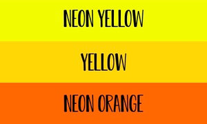 Yellows and Orange Name Add On