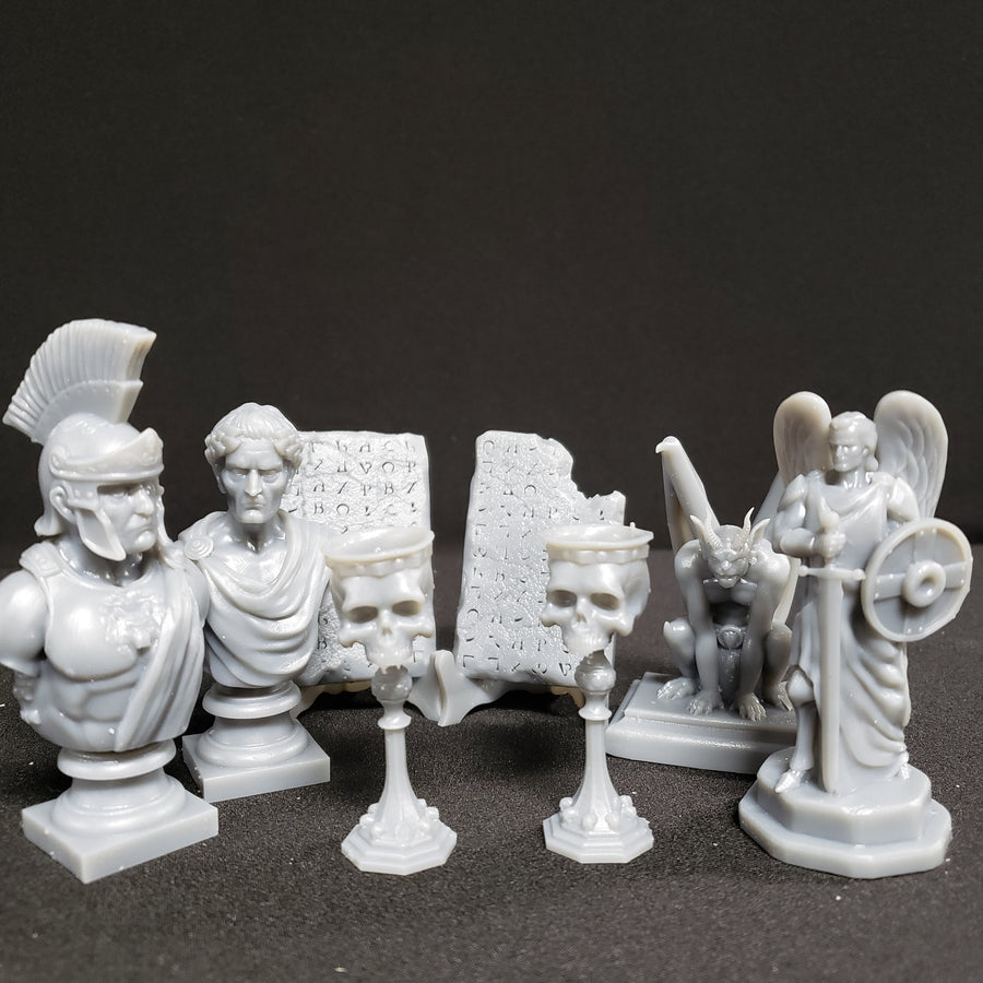 SET THREE - UNPAINTED BUNDLE