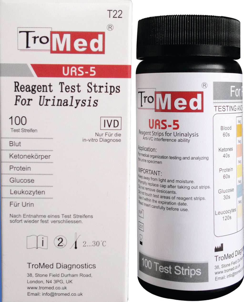 Reagent Test Strips For Urinalysis